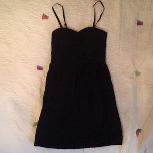 American Eagle Black Dress w/ Removable straps